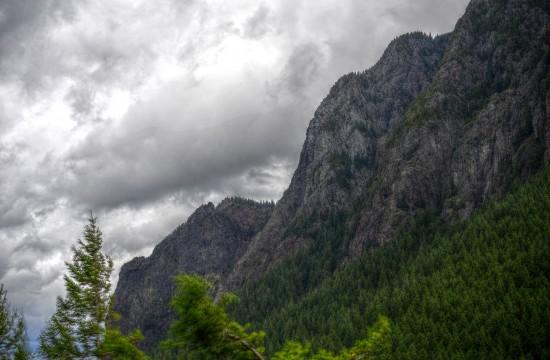 Ein Teil von Mount Si (=Big Si)
