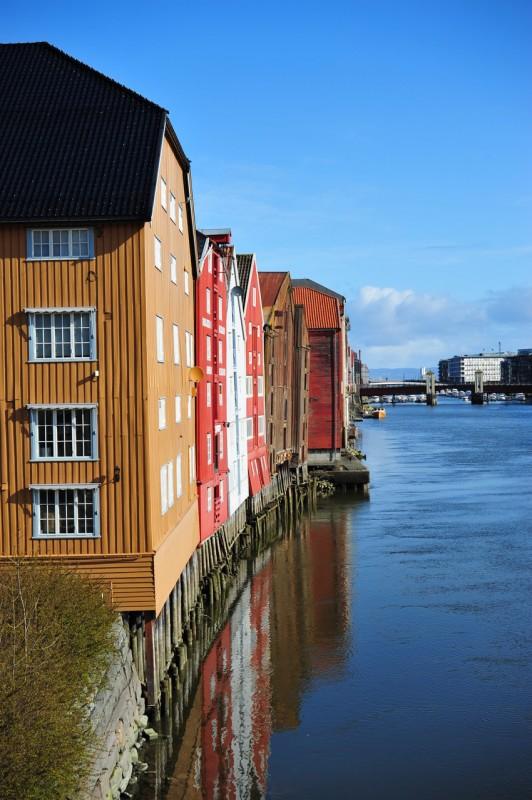 Bryggen in Trondheim