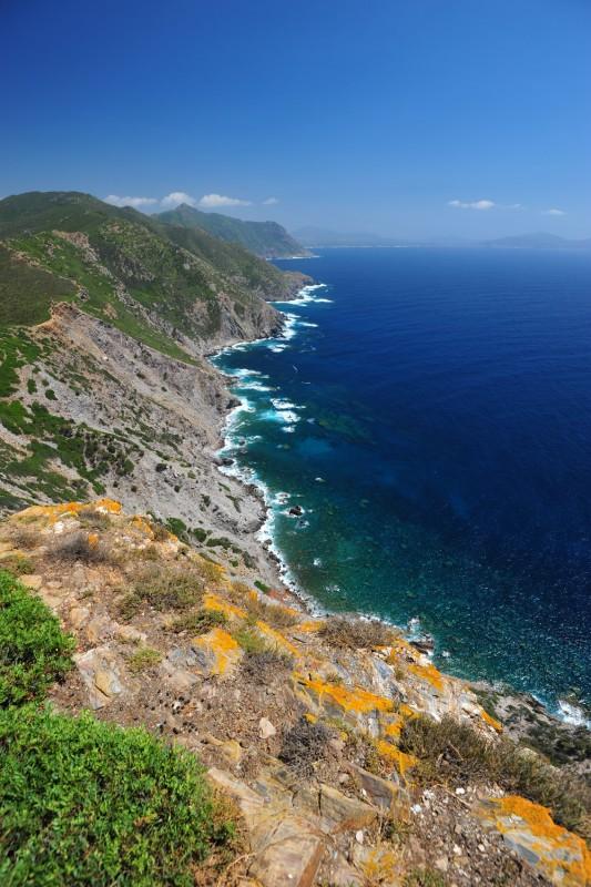 Coast near Punta Argentiera