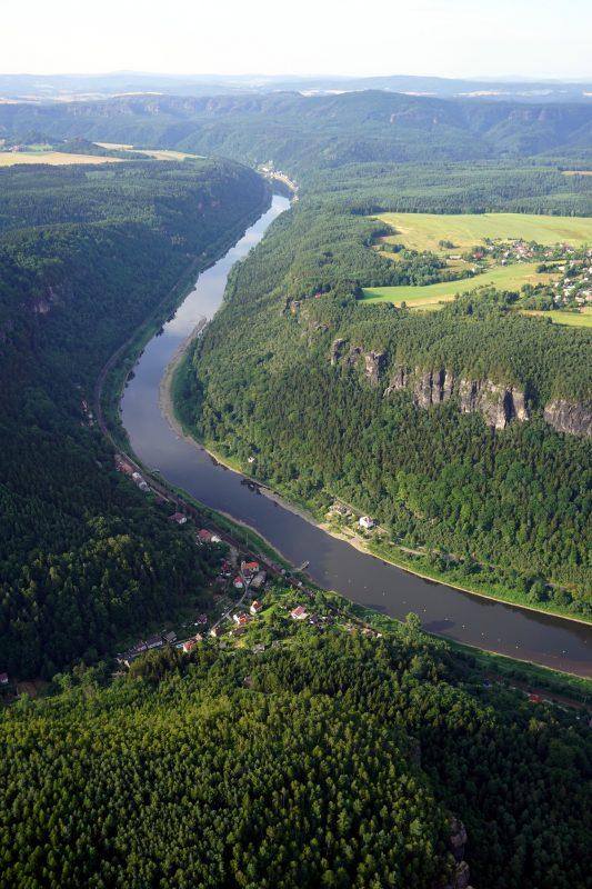 Elbe vor Hrensko